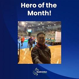 Hero Of The Month (Ian Fernandez)